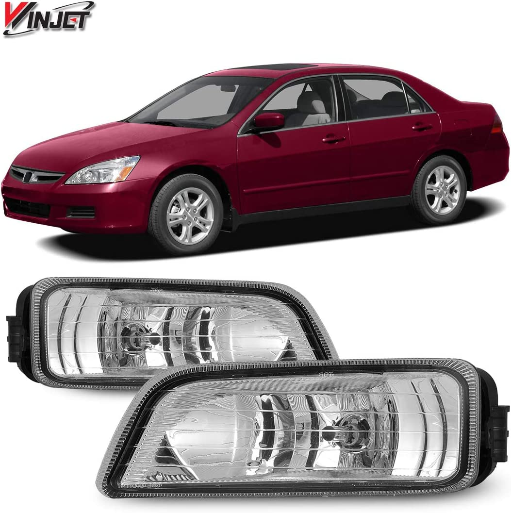 Amazon.com: Winjet Compatible with [2006 2007 Honda Accord] Driving Fog  Lights + Switch + Wiring Kit: Automotive | 2005 Honda Accord Driving Lights Wiring Diagram |  | Amazon.com