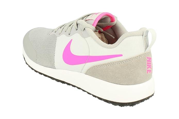 Nike Wmns Elite Shinsen, Zapatillas de Deporte para Mujer, Gris (Wolf Grey/Pink Blast-Pr Pltnm), 39 EU