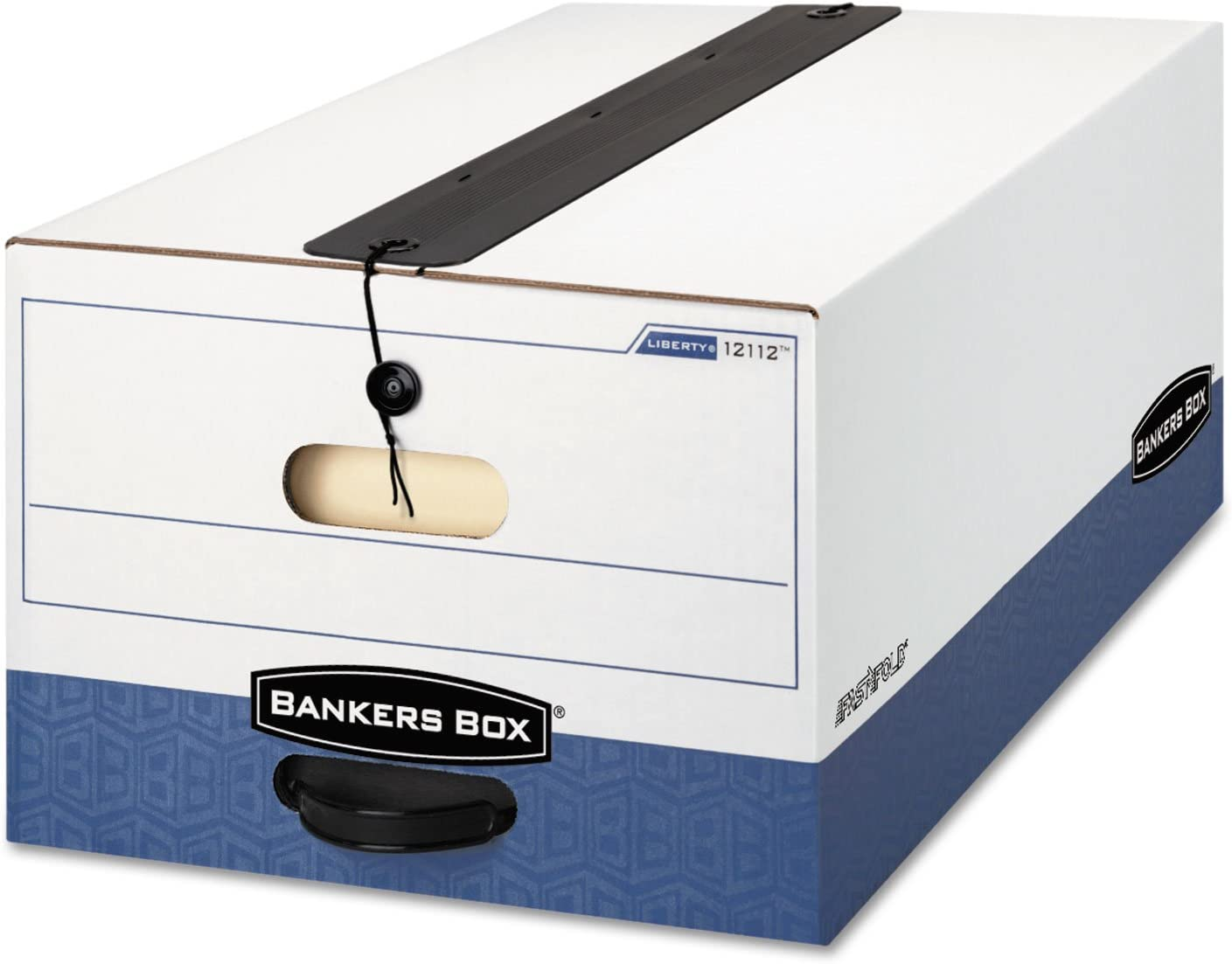 Pack of 10 Bankers Box 703 Letter Legal 10x12x15 Basic-Duty Storage /& File Boxes w// Lift-Off Lids