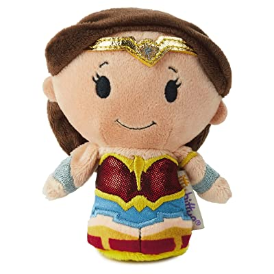 Hallmark itty bittys Limited Edition Wonder Woman Stuffed Animal: Toys & Games