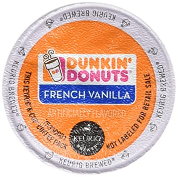 Dunkin Donuts French Vanilla Flavored Coffee KCups For Keurig K Cup