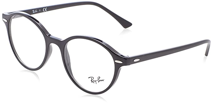 4db7504419 Amazon.com  Ray-Ban Unisex RX7118 Dean Eyeglasses Black 48mm  Clothing