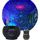 Star Projector Night Light for Kids, Adjustable galaxy Projector with 27 Lighting Modes with Remote control&Bluetooth…