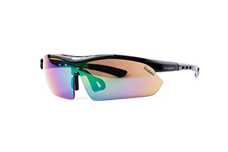 72fe84a5d3 Image Unavailable. Image not available for. Color  Verdster TourDePro  Polarized Cycling Sport Sunglasses For Men and Women ...