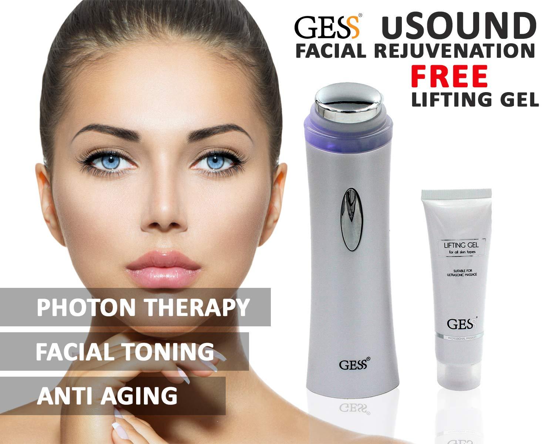 GESS-628ad ultrasuoni per usound/ion/Photon, ad ultrasuoni con 1.15% MHz per corpo e viso Rughe, Bianco