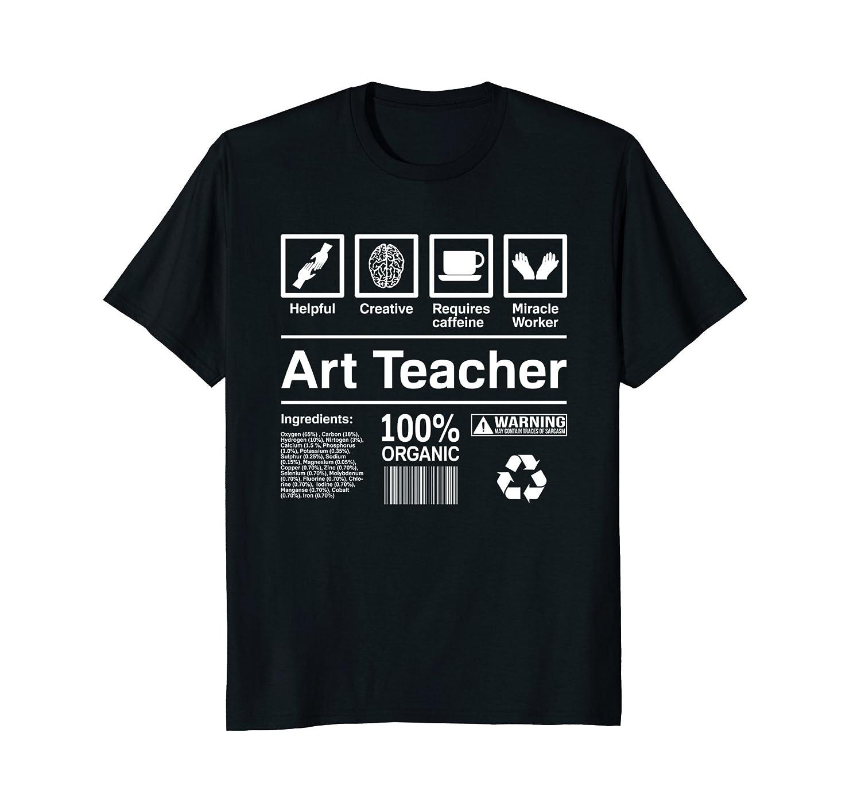 Art Teacher T Shirt Funny Art Teacher Gift-Teehay