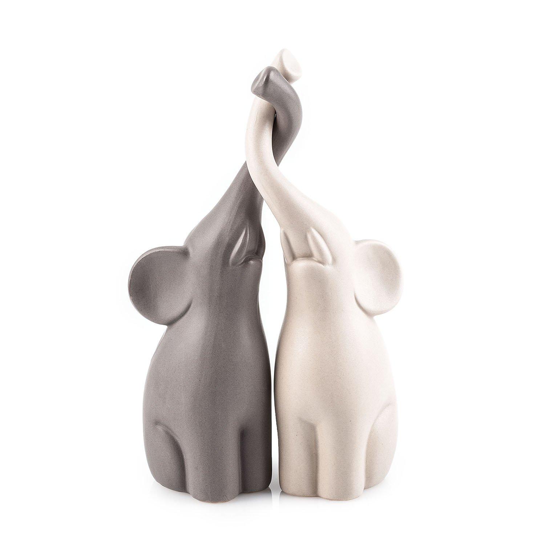 Pajoma 54837 amoureux éléphants-lot de 2–hauteur: 25,5 cm product image