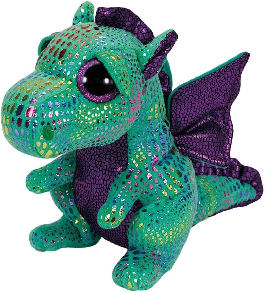 TY- Peluche, juguete, Color verde, 23 cm (United Labels Ibérica 37052TY) , color/modelo surtido