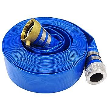 25 x 2 Light Blue Swimming Pool Filter Backwash Hose