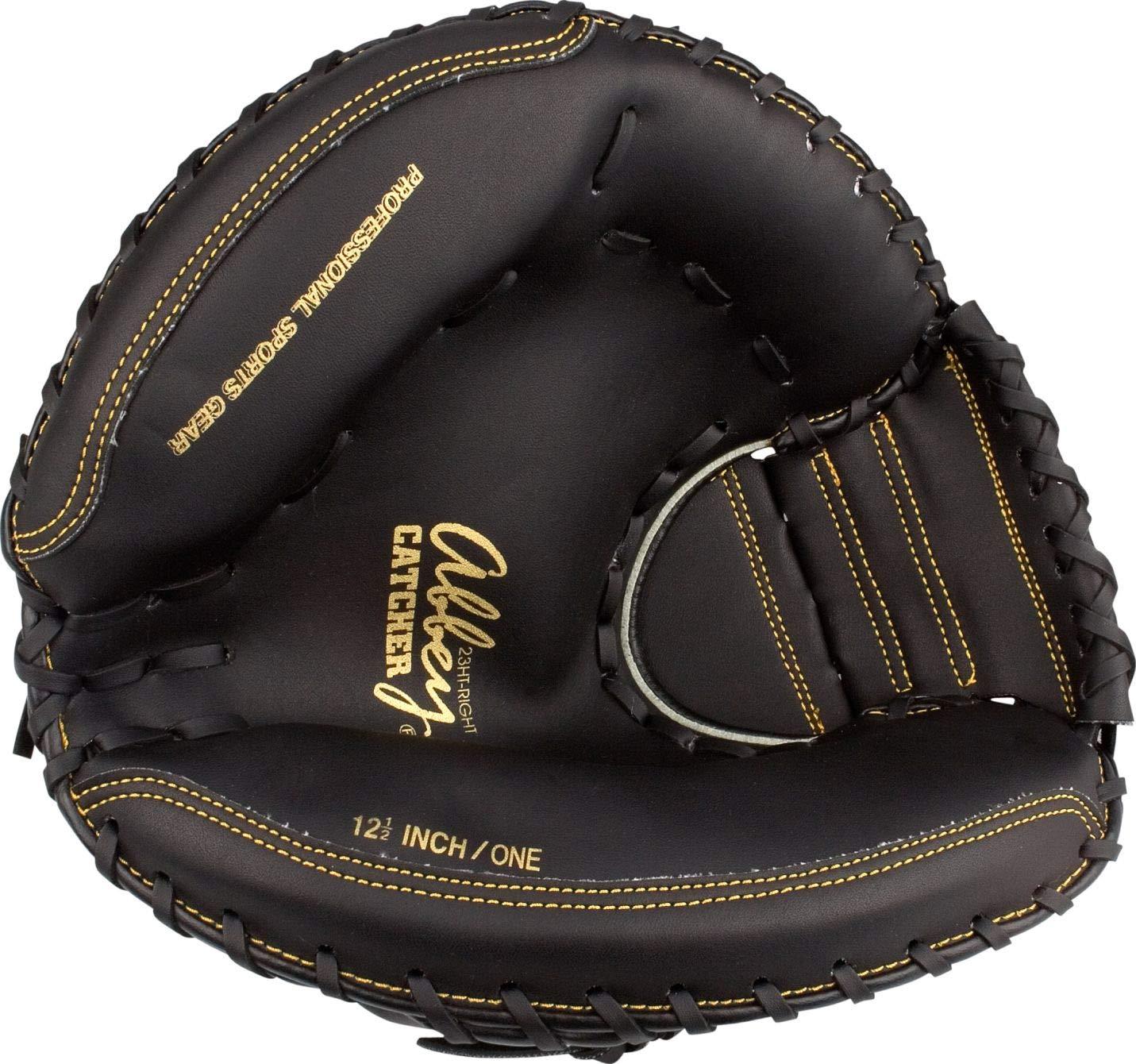 Taille:Rechts Abbey Baseball Gloves Catcher Right Sr Black