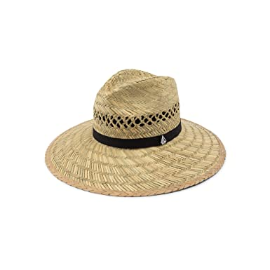 newest e12d6 c14ac Volcom Junior s Women s Dazey Straw Lifeguard Sun Hat, Natural, One Size  Fits All at Amazon Women s Clothing store