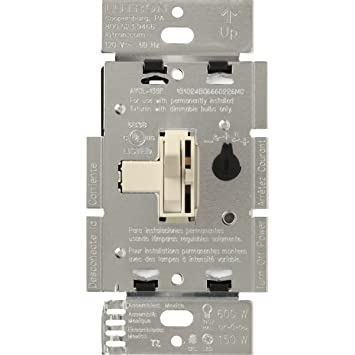 Lutron Toggler C.L Dimmer Switch for dimmable LED, Halogen and Incandescent Bulbs, Single-