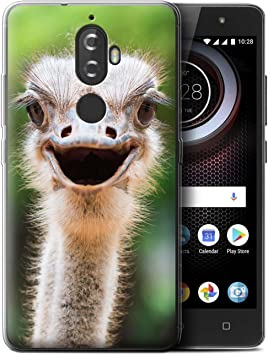 Stuff4 Var for Wildlife avestruz Lenovo K8 Plus: Amazon.es ...