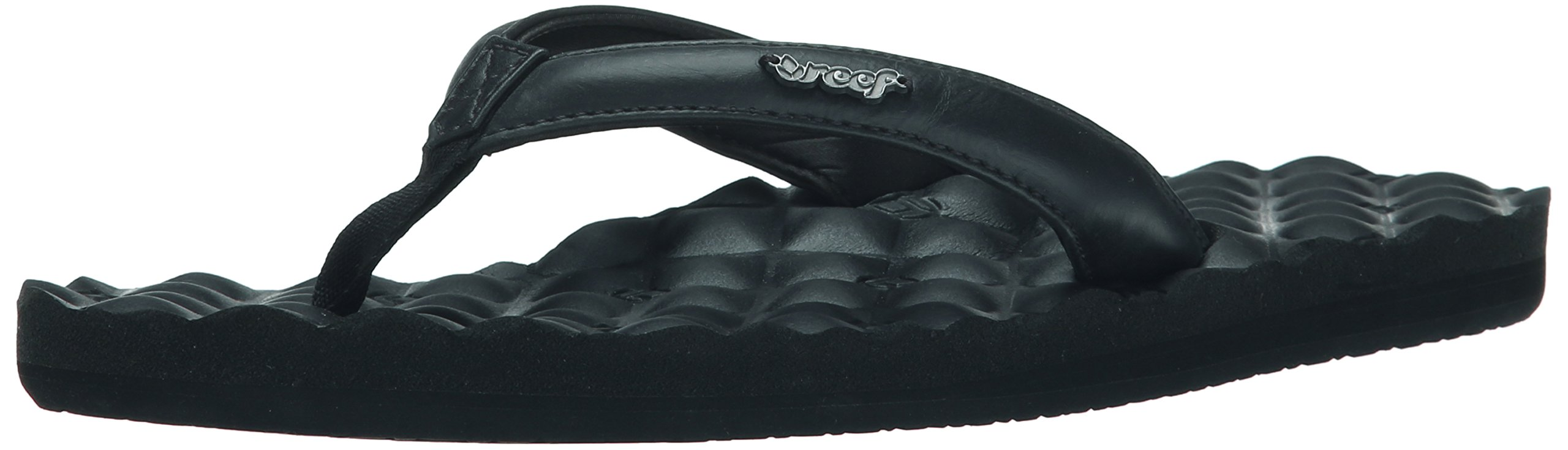 Reef Women's Dreams Sandal,  Black, 8 B(M) US