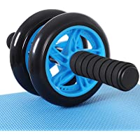 SONGMICS AB Roller AB Wheel Buk-rullmaskin hjul halkfri extra tjock knädyna matta