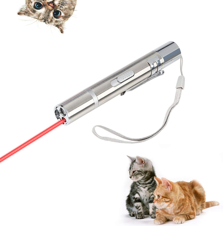 Xpassion Juguetes de Gatos, Gato Captura Juguetes de Entrenamiento Carga USB,Tres Modos,Iluminación,Gato Gracioso,Luz Morada.Cuatro Patrones,Estrellas, Pez, Smiley, Mariposa: Amazon.es: Productos para mascotas