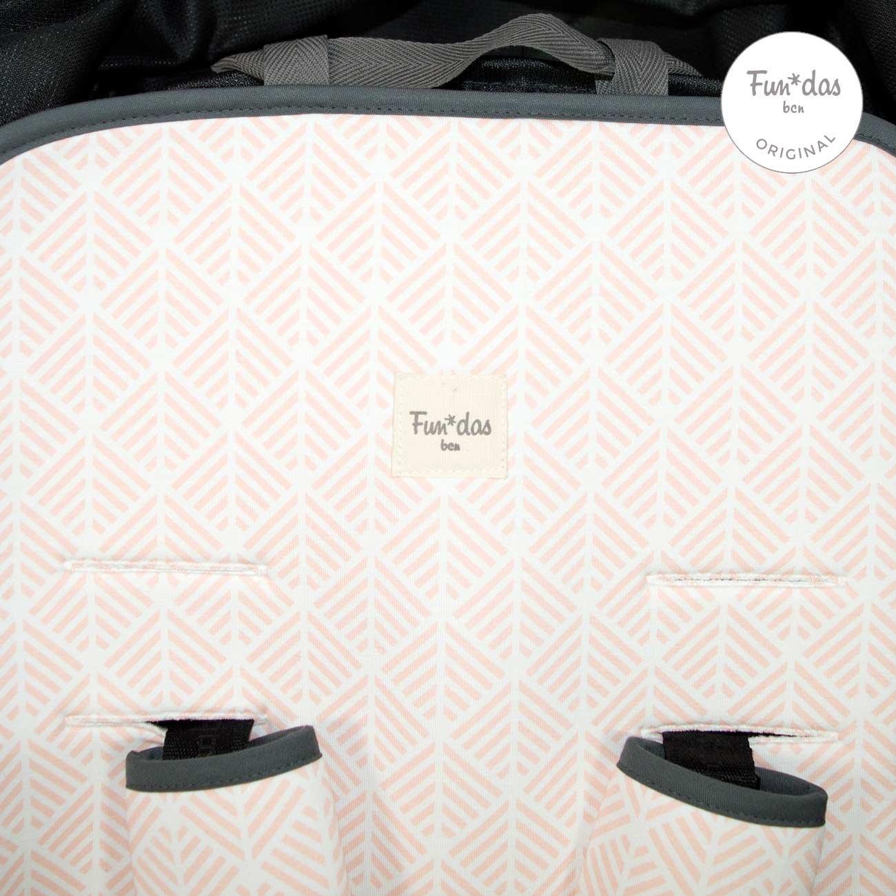 Pink Spike Colchoneta Universal para Silla de Paseo Fundas BCN /® F158