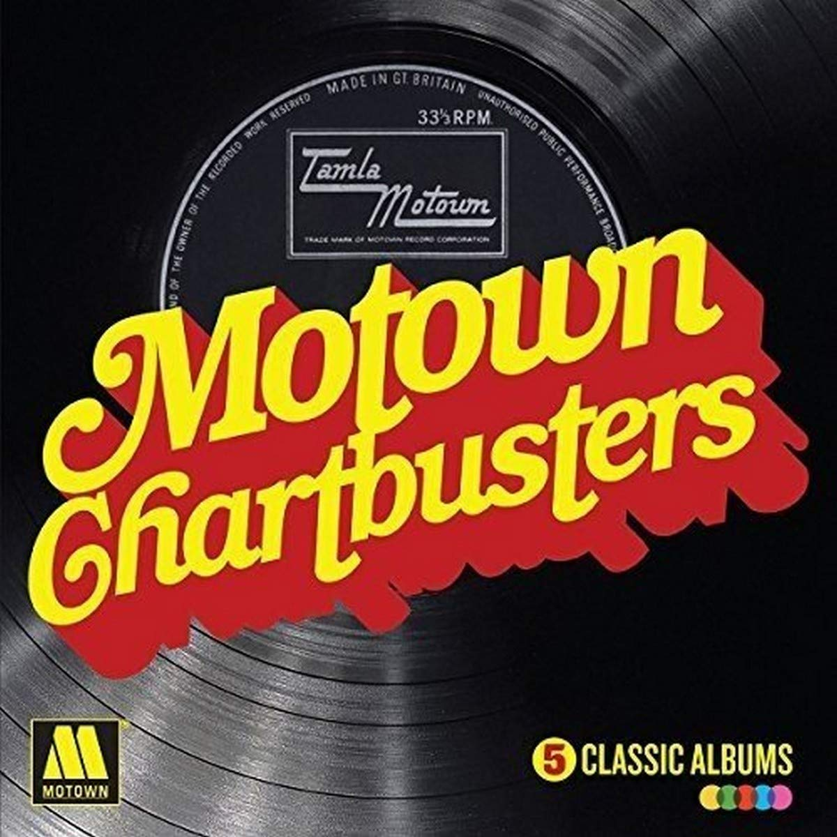 Motown Chartbusters: 5 Various Classic depot Max 44% OFF Albums