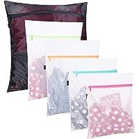 Set of 5 Mesh Laundry Bags-1 Extra Large, 2 Large & 2 Medium Bags Laundry,Blouse, Hosiery, Stocking, Underwear, Bra…