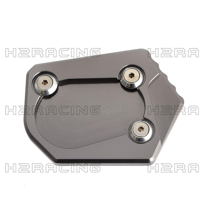 Dont fit The K52 ,1200 ST 2003-2007 H2Racing Gold Motorrad Seitenst/änder Unterst/ützung Fu/ß-Verbreiterung St/änder Pad f/ür B-M-W R nineT 2013-2016,1200 R 2006-2015,1200 RT K26 2004-2014