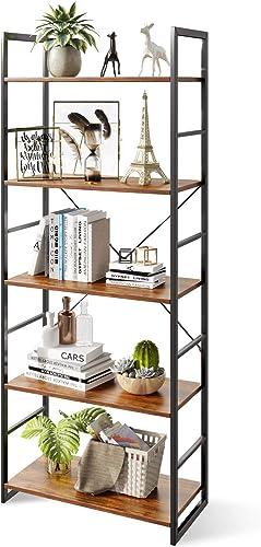 Best modern bookcase: ODK 5 Tier Bookshelf