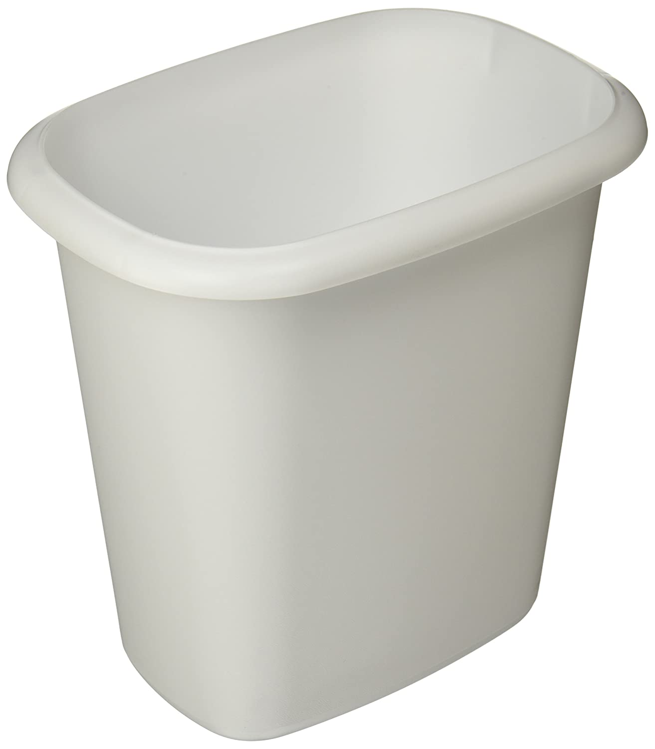 Popular 259 List White Bathroom Trash Can