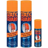 Static Guard Bonus Pack Spray 12.4 oz (2 Pack of 5.5 oz & 1 Pack of 1.4 oz)
