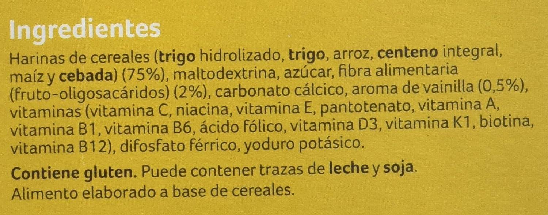 NUTRICIA 172995 - Almirón advance papilla de multicereales 4 x 500g (total 2000g): Amazon.es: Alimentación y bebidas