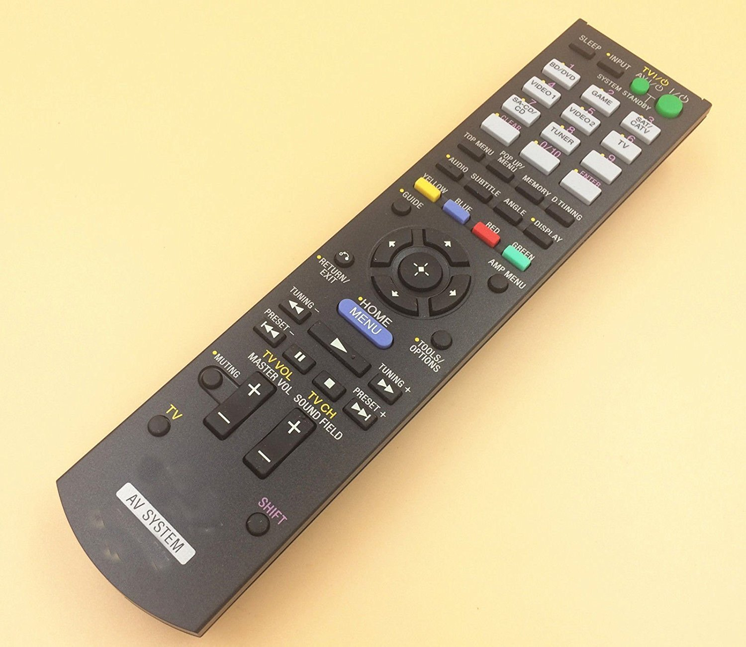 LR Generic Remote Control Fit For RM-AAU071 148761111 STR-DH540 STR-DH540B For Sony DVD Home Theater AV A/V Receiver