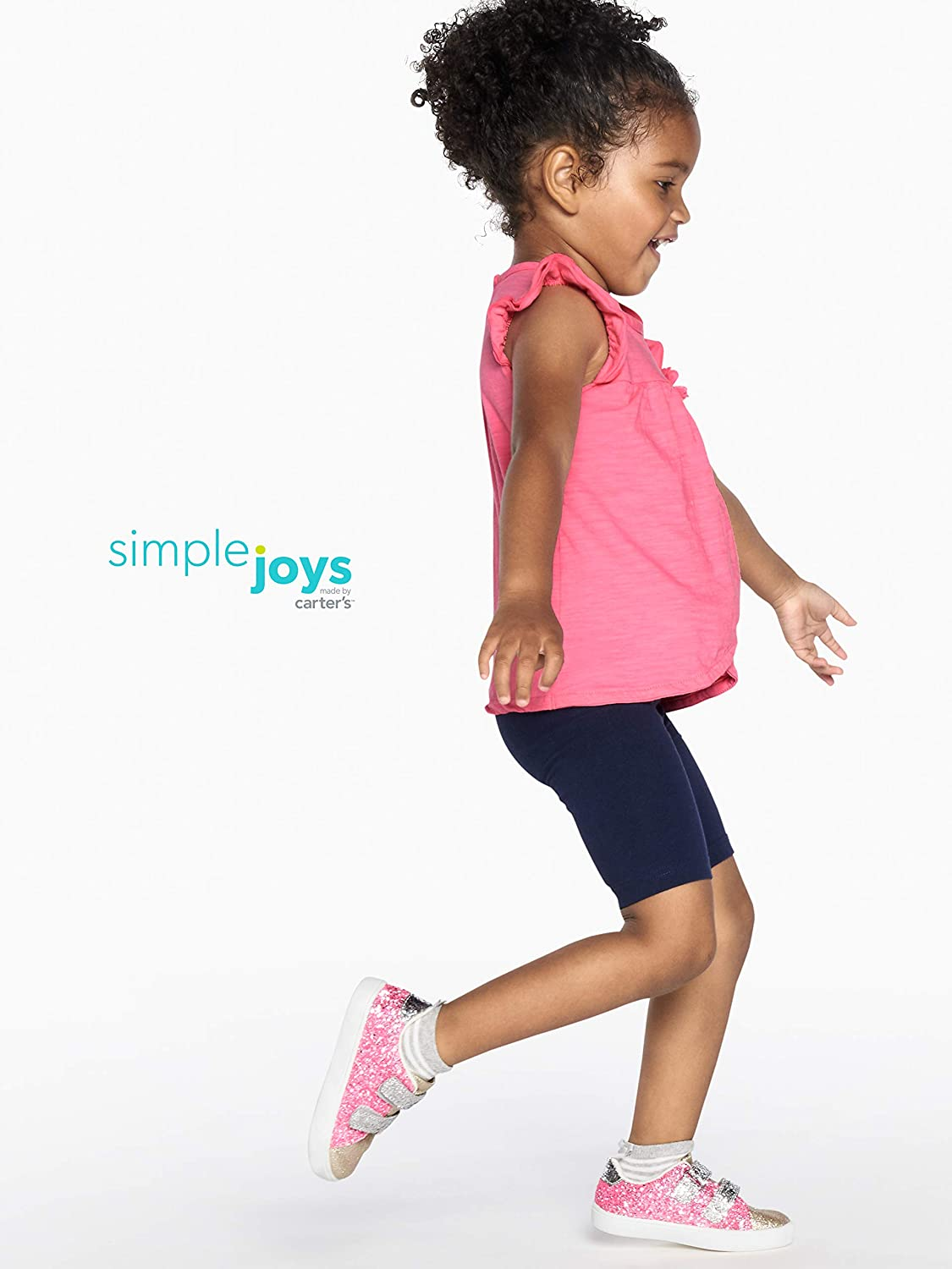 Simple Joys by Carters girls 3-Pack Bike Shorts Pants