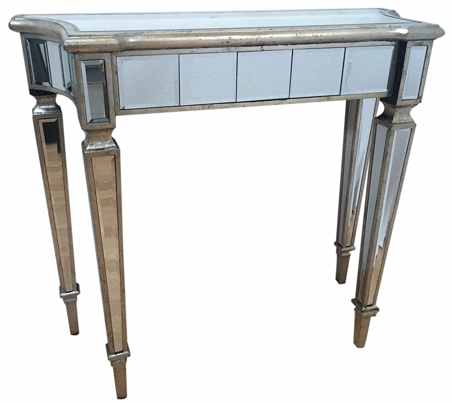 Pleasant Interiors In Vogue Mirrored Console Dressing Table Silver Download Free Architecture Designs Photstoregrimeyleaguecom