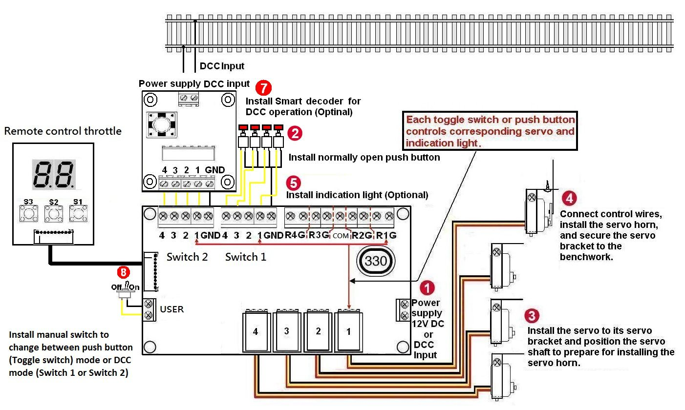 Switch Track Wiring Dcc Schematics Diagram Ho Motor Control Wire Center U2022 Boosters Diagrams