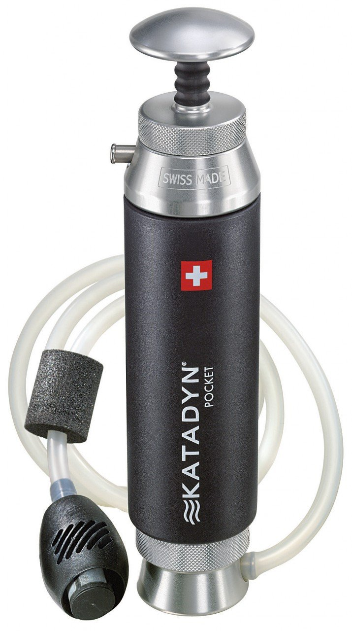 filtre a eau de poche
