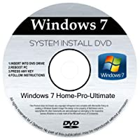 WINDOWS 7 32 & 64 bit DVD SP1 All Versions Ultimate Re-install Windows Factory Fresh! Recover, Repair, Re Install - Restore Boot Disc ~ Fix PC - Laptop - Desktop ~ AIO DVD/ROM