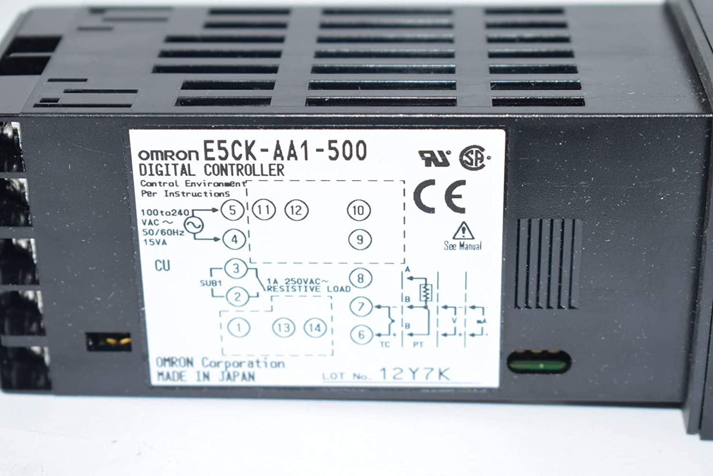 Omron E5Ck-Aa1-500 Temp Controller E5Ck-Aa1-500