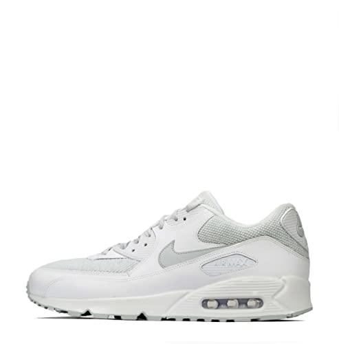 216262feaa482 Nike Mens - Air Max 90 Essential - White Grey - UK 11: Amazon.co.uk ...