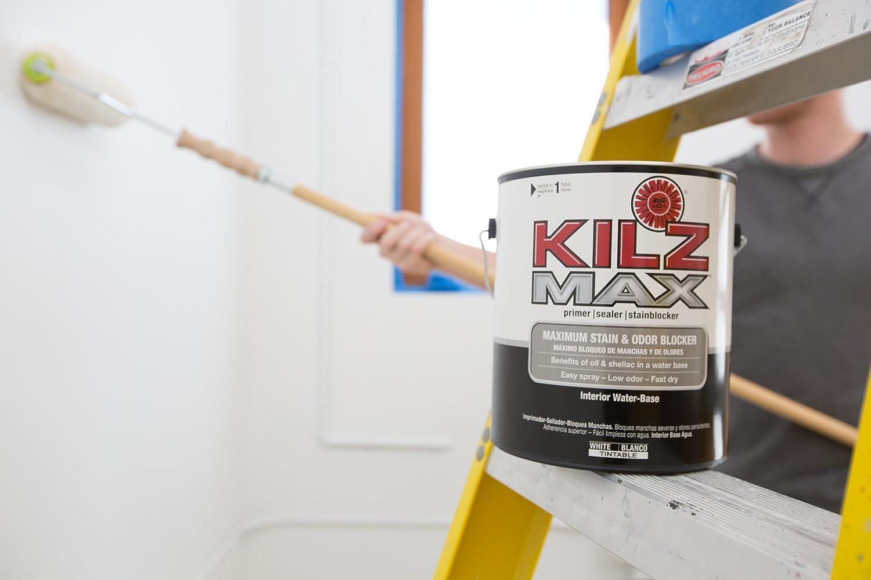 Amazon.com: KILZ MAX Maximum Stain and Odor Blocking Interior Latex ...