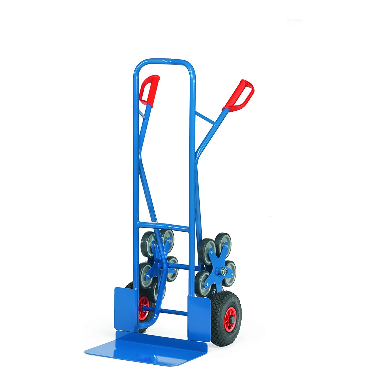 For Demand mczea328 carrello con ruote pneumatiche, 590 mm larghezza x 1300 mm altezza, 300 mm x 480 mm Piattaforma diametro