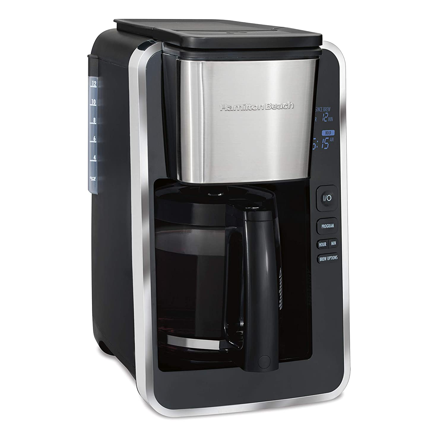 Hamilton Beach 46320 Easy Access Deluxe Programmable Coffee Maker Black