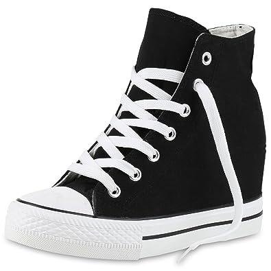 Sneaker Wedges Mit Vita Keilabsatz Scarpe Basic Damen EqBxwwgtH