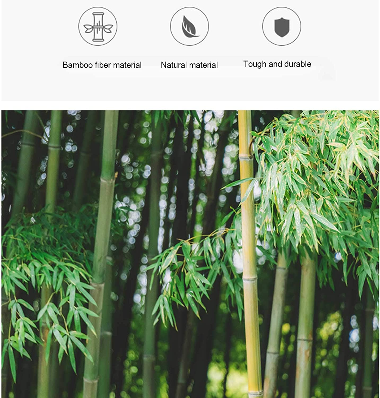 Ba/ño En Casa White Caja De Soporte De Jab/ón De Fibra De Bamb/ú para Viajes Camping Port/átiles Jabonera A Prueba De Fugas Wupettier Jaboneras De Madera Natural De Bamb/ú