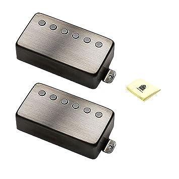EMG 66 metal works pastilla Humbucker para guitarra eléctrica de repuesto pastilla para guitarra (par