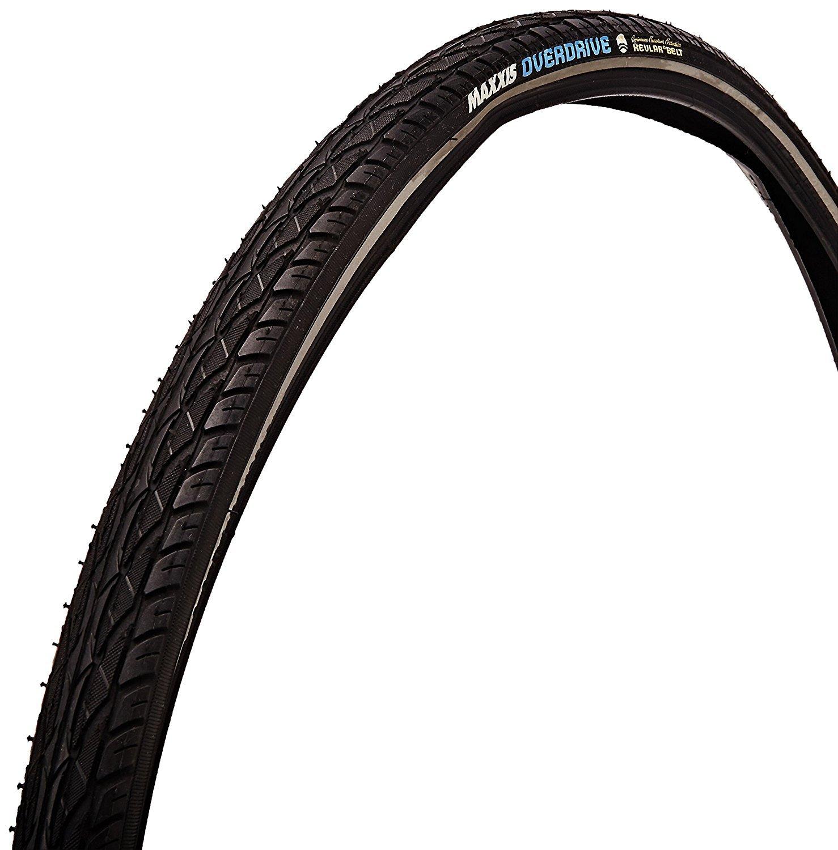 Maxxis Overdrive Hybrid Bike Tire (Wire Beaded 70a 700x38) [並行輸入品] B077QLBHJX