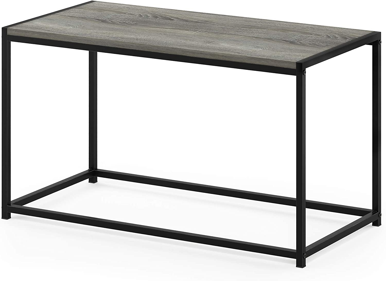 FURINNO Camnus Modern Living Coffee Table, French Oak Grey