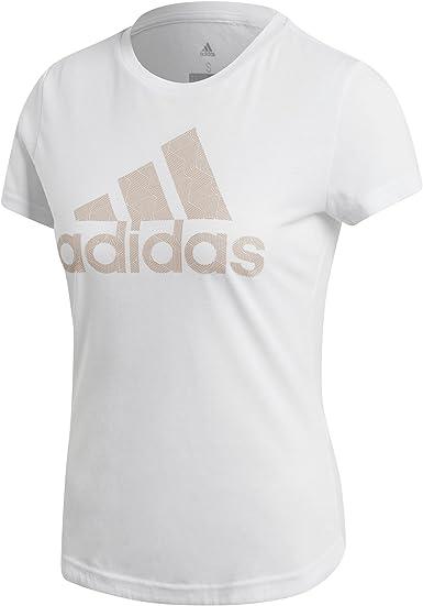 adidas Adi Training T Camisa de Golf, Mujer, Blanco, 2XS ...
