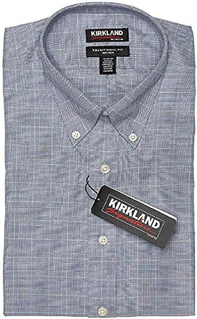 Amazon.com: Kirkland Signature Men's Button Down Dress Shirt, Variety: Clothing