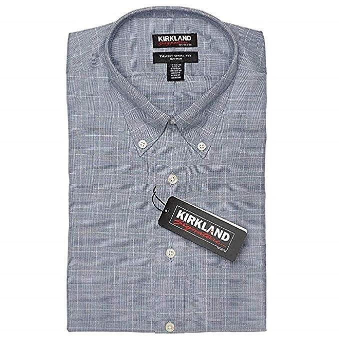 KIRKLAND SIGNATURE Custom Fit L//S Formal Shirt White Various Sizes