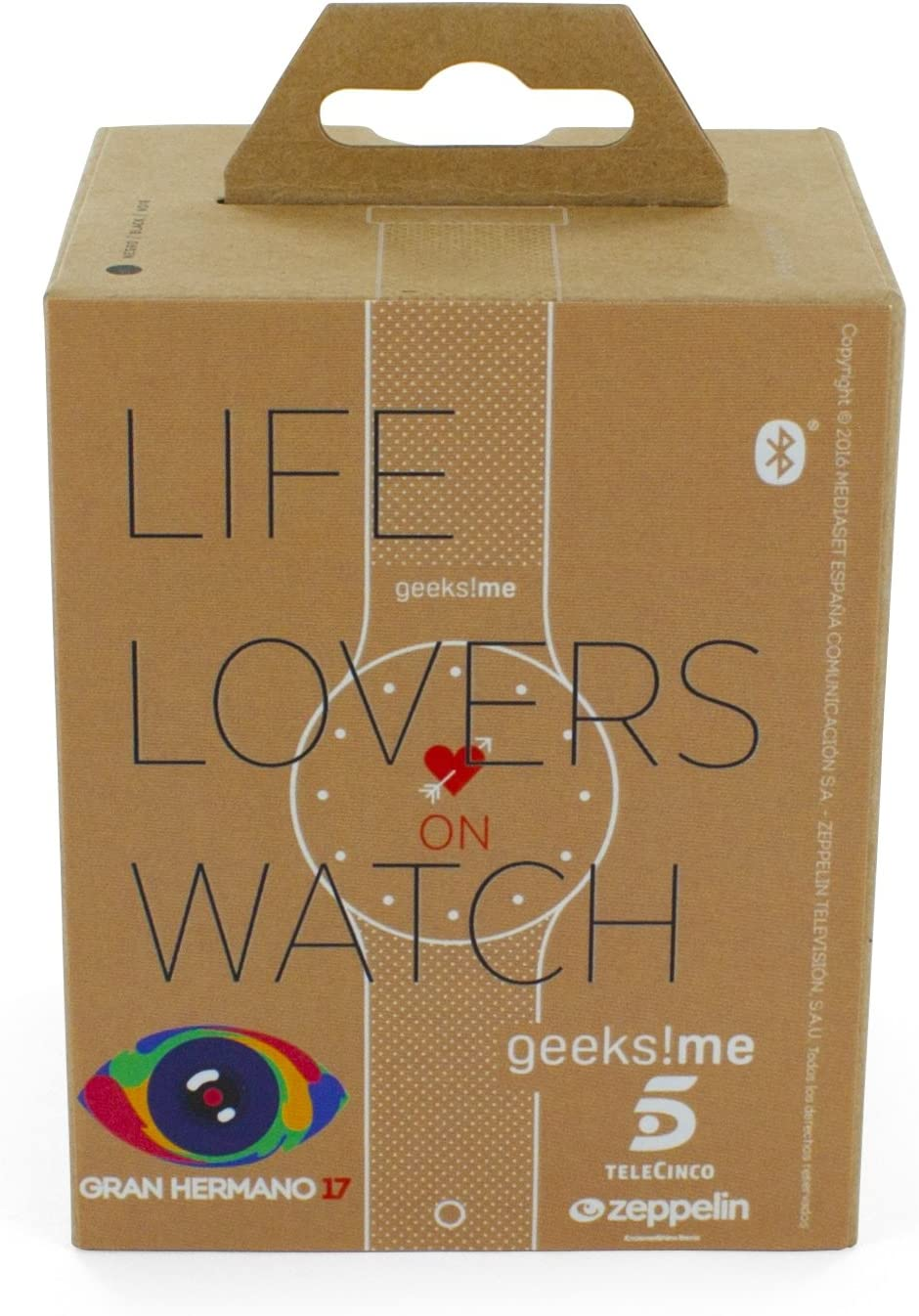 Geeksme Life Lovers - SmartWatch (Bluetooth Smart BLE 4.0 ...