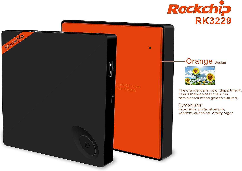 Mini RK3229 4K TV BOX RK3229 Quad Cortex-A7 android 4.4 1GB / 8GB IPTV Set Top Box de 2,4 GHz Wi-Fi H.264 de 10 bits HDMI DLNA smart tv box: Amazon.es: Electrónica