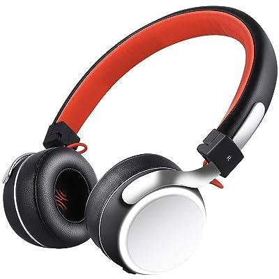 【31日まで】OneAudio バスブースター搭載 コンパクトワイヤレスヘッドホン 送料込1,394円